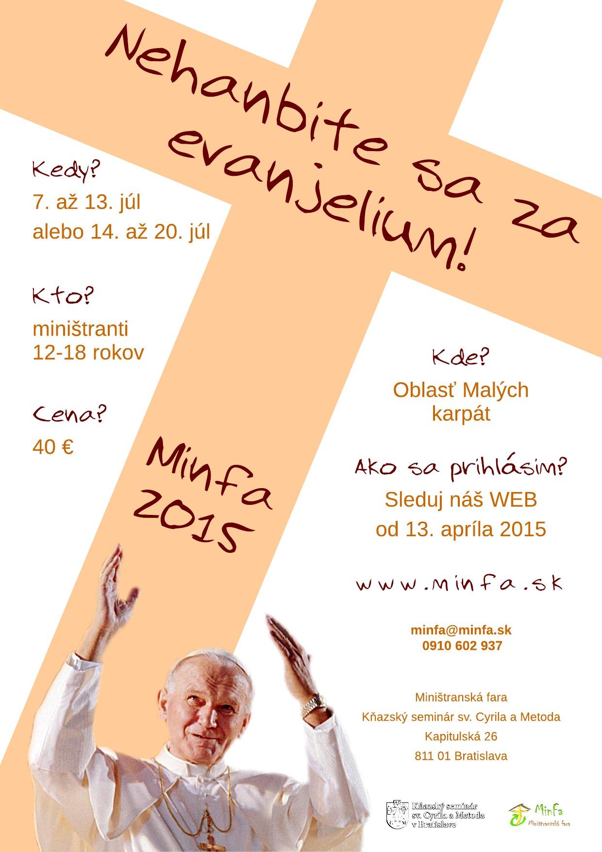 Minfa 2015 - plagát - Flyer
